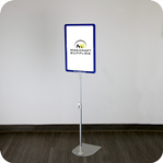 Showcard Floor Stand